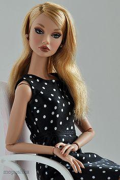 Poppy Parker doll---Love the polka dots.