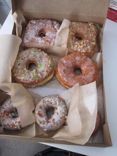 Doughnut Plant in NYC - a favorite office birthday treat!
