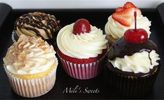 assorted wedding tasting sampler by Mili's Sweets