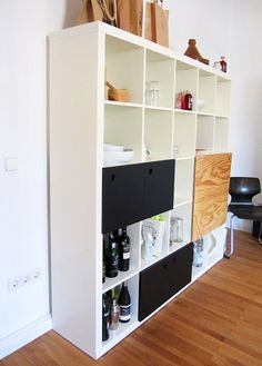 LACK Wall shelf unit, black | Downstairs Office & Guest Room ...