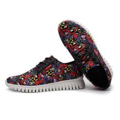 outlet store 0f9d3 80b39 Sport Shoes Men Women Casual Shoes Fashion Shoes Woman Print Zapatos Hombre  Mujer Zapatillas Deportivas Lover Platform Shoes