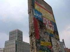 Wall section at Potsdamer Platz, Berlin by NoSoma, via Flickr