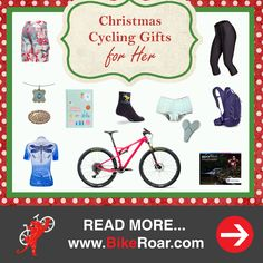 Procrastinated? Still looking for the right gift for a cycling lady? Try one of these 'Christmas Cycling Gifts for Her.'   LEARN MORE: http://roa.rs/2gGKtl0?utm_content=buffer32e8c&utm_medium=social&utm_source=pinterest.com&utm_campaign=buffer.   _ #ladies #cycling #gifts #women #cyclist #presents #Christmas