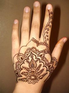 Latest Henna Designs For Hands ~ Mehndi Designs For Hands