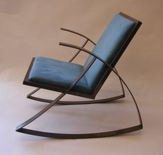 Steel rocker. I made this when I was 15.
