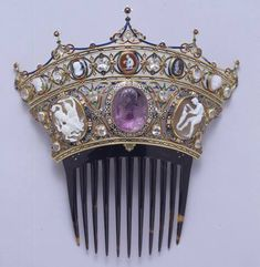 Comb from the Devonshire Parure