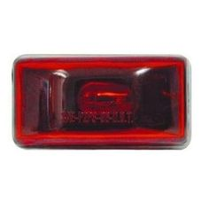 Optronics Boat//Utility Trailer Stud Mount Red Sealed Marker//Clearance Light