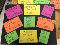 Motivational slogans for 5th grade