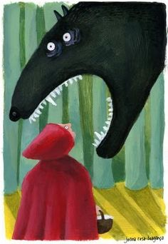 Le Petit Chaperon Rouge ! 'Red Riding Hood' by Joana Rosa Bragança.
