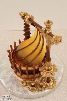 Steampunk Da Vinci Cupcake WIN!