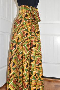 African women clothing for xmas/African monostrap dress for prom/African dress/african wedding African women fashion skirt/ African print kente skirt/kente maxi skirt/ African long skirt/kente lo African Fashion Designers, Latest African Fashion Dresses, African Print Fashion, Africa Fashion, African Prints, African Attire, African Dress, African Outfits, African Wear