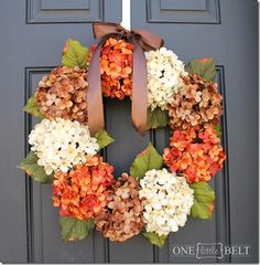DIY Autumn Wreath - This takes you to the tutorial! I will be making this very soon (minus that underwhelming bow)!