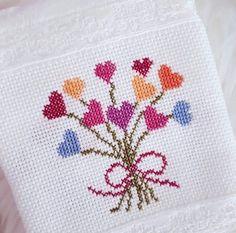 Rosettes, 9 And 10, Cross Stitch, Instagram, Minis, Amanda, Decor, Ideas, Embroidery Hearts