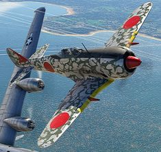 Ww2 Aircraft, Fighter Aircraft, Fighter Jets, Military Jets, Military Aircraft, In The Air Tonight, War Thunder, Airplane Art, Ww2 Planes