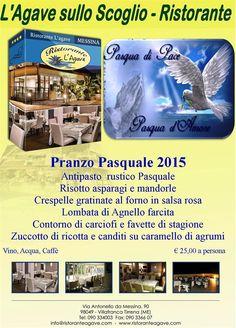 Pranzo Pasquale 2015 http://www.ristoranteagave.com/eventi/ #pasqua   #ristoranti   #offerte   #coupon