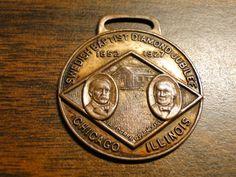 Scarce Watch Fob / Medal Swedish Baptist Diamond Jubilee - (1852 - 1927) - Chicago Il - Great Item! by EagleDen on Etsy
