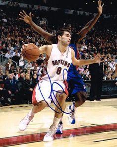 Jose Calderon Autographed 8x10 Photo #SportsMemorabilia #TorontoRaptors