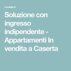 Soluzione con ingresso indipendente - Appartamenti In vendita a Caserta