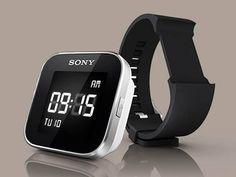 SmartWatch, da Sony, permite ler e-mails, SMS, atualizações de redes sociais e previsão do tempo de um smartphone com Android