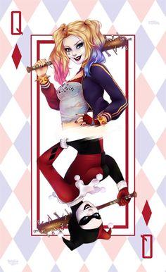 Harley Quinn by Nataliadsw                                                                                                                                                                                 Más