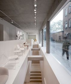 6a architects has designed a new London showroom for Italian furniture manufacturer Arper.