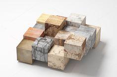 Stone cubes by De todo un poco on Creative Market