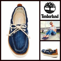 """Timberland Boat Shoes Canvas Flats NEW WITH TAGS RETAIL PRICE: $90 ***Tagged Timberland for Urban Outfitters Timberland Boat Shoes Flat Canvas Slip Ons   * Slip-on ballet flat style & round moccasin toe.  * Front adjustable lace up Oxford vamp & bow tie closure.   * Side lacing & grommet detail.   * Approx 1"""" platform heel w/back ballet flat soles  * logo stamp  * True to size   Fabric:Canvas upper & rubber sole Color:BlueItem: 96500  No Trades ✅ Offers Considered*✅ *Please use the blue…"""