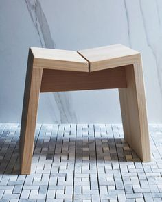 Hinoki Bath Stool   https://shop.nalatanalata.com/collections/all/products/hinoki-bath-stool-1    Read more:  Clever Furniture for Small Bathrooms  http://vurni.com/clever-bathroom-furniture/
