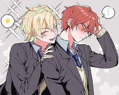 ひふみ×独歩 Manga Art, Anime Art, Anime Hairstyles Male, Old Married Couple, Kawaii Faces, Avatar, Fanart, Rap Battle, Shounen Ai
