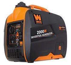 WEN Inverter Gasoline Portable Generator at Lowe's. Remember when you had clean and efficient portable power. The WEN Inverter Generator produces clean energy free of voltage spikes and drops Quiet Portable Generator, Camping Generator, Portable Inverter Generator, Inverter Ac, Solar Energy System, Solar Power, 2000 Watt Generator, Generator Box, Solar Generator