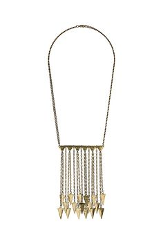 Triangle Bar Chain Necklace