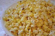 Spicy Buttered Popcorn Snack