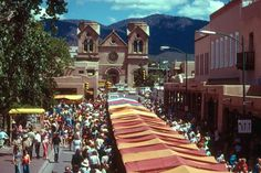 """Indian Market Santa Fe New Mexico ~ """"The Santa Fe Indian Market is the largest and oldest juried Native American art show and market in the world."""