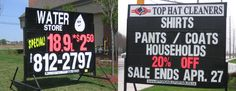 I need to get me a sign like this to help promote my business! http://www.mobilesignrental.ca/mississauga.html