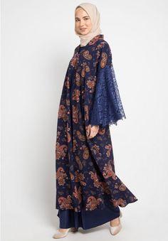 New dress simple evening hijab ideas Trendy Dresses, Modest Dresses, Simple Dresses, Nice Dresses, Casual Dresses, Maxi Dresses, Batik Fashion, Abaya Fashion, Fashion Dresses