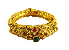 LUSTROUS gold metallic bangle.   Price - 2500/-   Place your order by sending us an email to justjewellery08@gmail.com