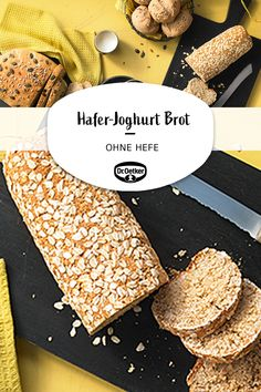 Easy Baking Recipes, Raw Food Recipes, Diet Recipes, Recipies, Yogurt Bread, Best Vegetarian Recipes, Le Diner, How To Make Bread, Different Recipes