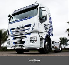 Truck accessories for New #Iveco Stralis Hi-way.