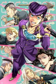 Diamond Is Unbreakable - JoJo no Kimyou na Bouken - Mobile Wallpaper - Zerochan Anime Image Board Jojo Anime, 5 Anime, Anime Guys, Anime Art, Jojo's Bizarre Adventure, Jojos Bizarre Adventure Jotaro, Jojo's Adventure, Rwby, Johnny Joestar