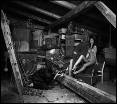 "Mariusz Kubielas & Jakub Grzywak ""Adoration of the Slipper"" Photography inspired by brilliant ""Street of Crocodiles"" novel by Bruno Schu..."