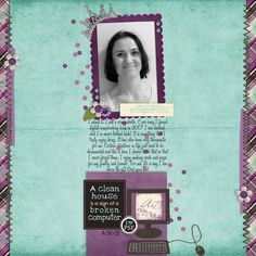 Kit - 'Queen Of Scrap' by SM Design Team Collabhttp://shop.scrapmatters.com/queen-of-scrap.html  Template - 'Splash Template' by Gina Cabrera.  Font - Honey Script.