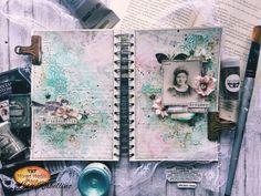 Art Journal Pages, Art Journals, Journal Ideas, Matte Gel, New Art, Mixed Media, Lisa, My Arts, Tapestry