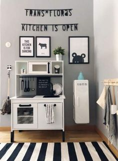 Ideas for kitchen ikea children playrooms – Kitchen 2020 Ikea Kids Kitchen, Diy Play Kitchen, Play Kitchens, Bunk Beds Boys, Cool Bunk Beds, Baby Zimmer Ikea, Ikea Playroom, Playroom Ideas, Childrens Kitchens