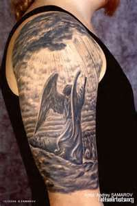 Pin Angel Tattoo Arm Tattoos