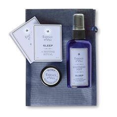 MADE IN USA. Essence of Vali Sleep Travel Kit