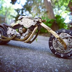 Watch Parts Motorcycles by Dan Tanenbaum 196