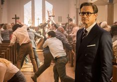 Stay calm and well dressed. From the movie Kingsman.
