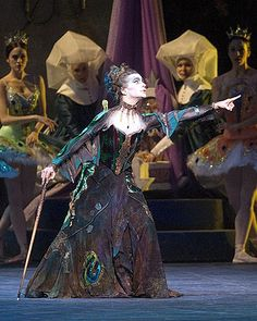 Gelsey Kirkland, Carabosse, Sleeping Beauty Ballet