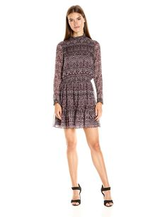 Shoshanna Women's Judi Dress-Fall Boho Print