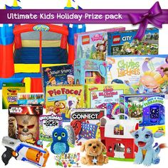 Check out this contest to win over $750 worth of kids toys and enter now. Super easy.